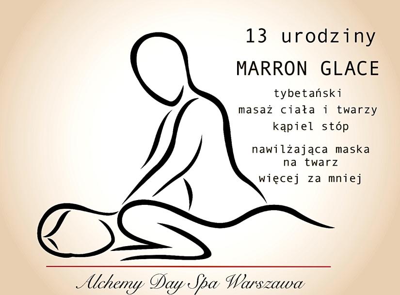 MARRON GLACE masaż